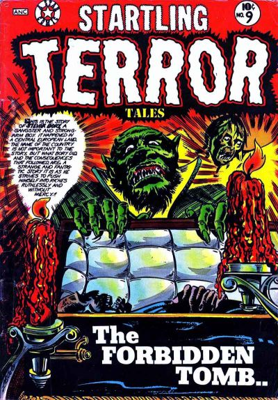 Cover for Startling Terror Tales (Star Publications, 1953 series) #9