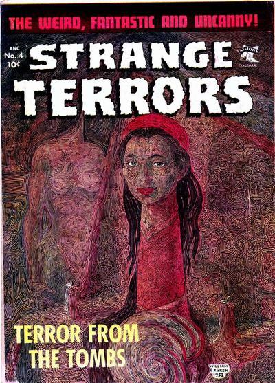 Cover for Strange Terrors (St. John, 1952 series) #4