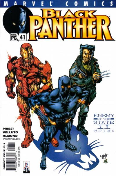 Cover for Black Panther (Marvel, 1998 series) #41