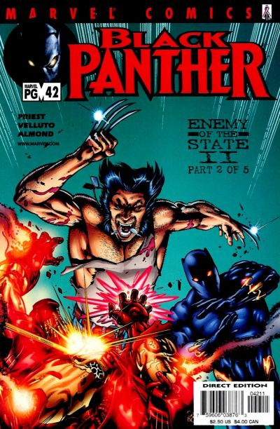 Cover for Black Panther (Marvel, 1998 series) #42