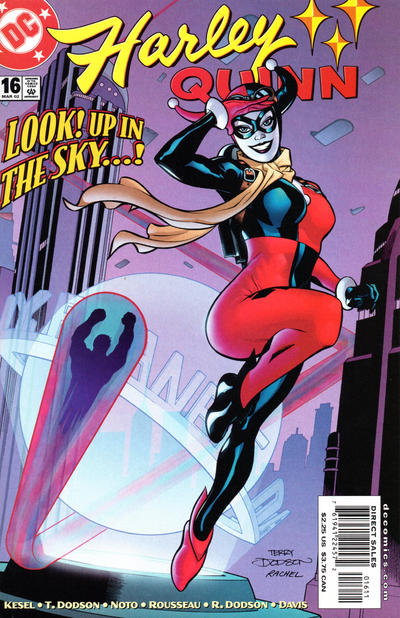 Cover for Harley Quinn (DC, 2000 series) #16