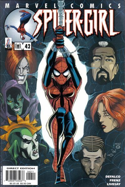 Cover for Spider-Girl (Marvel, 1998 series) #42