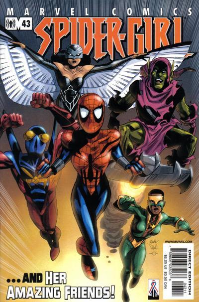 Cover for Spider-Girl (Marvel, 1998 series) #43