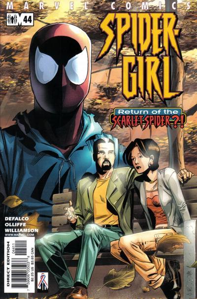 Cover for Spider-Girl (Marvel, 1998 series) #44
