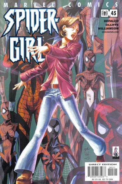 Cover for Spider-Girl (Marvel, 1998 series) #45