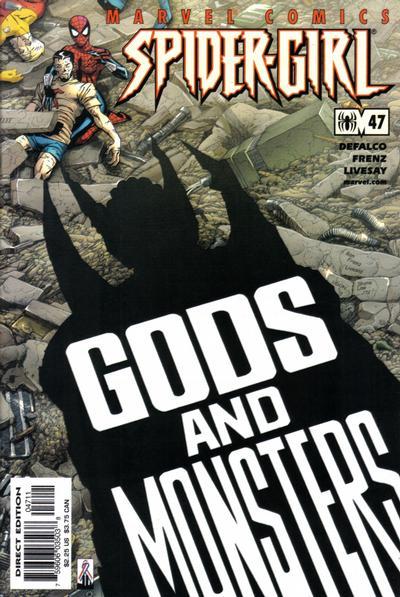 Cover for Spider-Girl (Marvel, 1998 series) #47