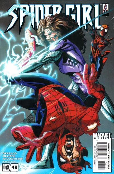 Cover for Spider-Girl (Marvel, 1998 series) #48