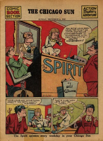 Cover for The Spirit (Register and Tribune Syndicate, 1940 series) #12/6/1942