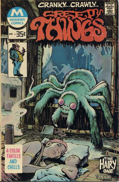 Cover for Creepy Things (Modern [1970s], 1977 series) #6
