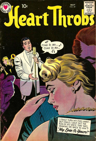 Cover for Heart Throbs (DC, 1957 series) #59