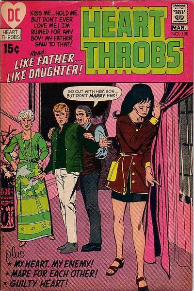 Cover for Heart Throbs (DC, 1957 series) #130