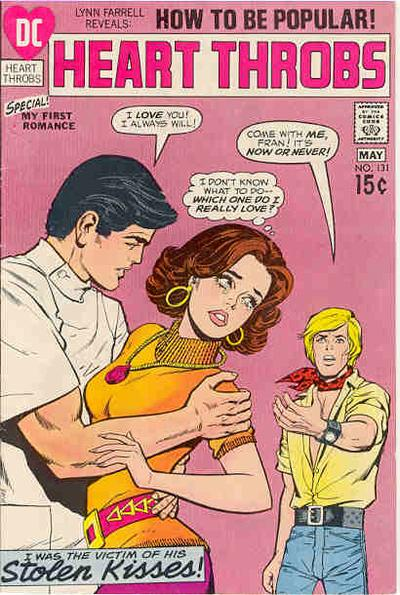 Cover for Heart Throbs (DC, 1957 series) #131