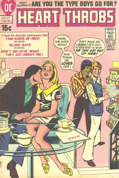 Cover for Heart Throbs (DC, 1957 series) #132