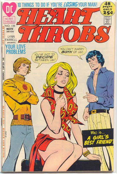 Cover for Heart Throbs (DC, 1957 series) #135