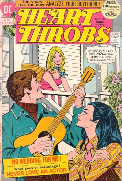 Cover for Heart Throbs (DC, 1957 series) #139