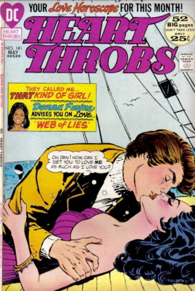 Cover for Heart Throbs (DC, 1957 series) #141