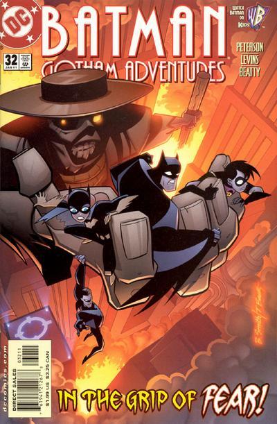 Cover for Batman: Gotham Adventures (DC, 1998 series) #32 [Direct Sales]