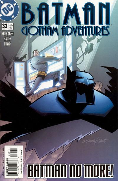 Cover for Batman: Gotham Adventures (DC, 1998 series) #33 [Direct Sales]