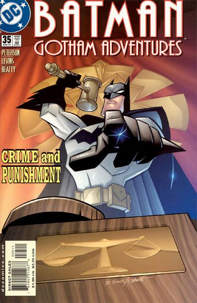 Cover for Batman: Gotham Adventures (DC, 1998 series) #35