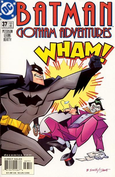 Cover for Batman: Gotham Adventures (DC, 1998 series) #37