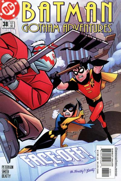 Cover for Batman: Gotham Adventures (DC, 1998 series) #38