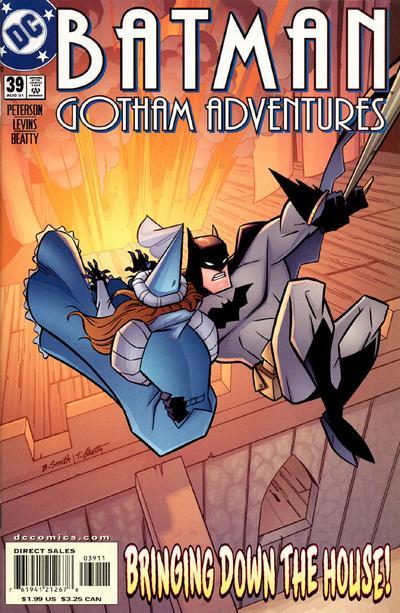 Cover for Batman: Gotham Adventures (DC, 1998 series) #39 [Direct Sales]