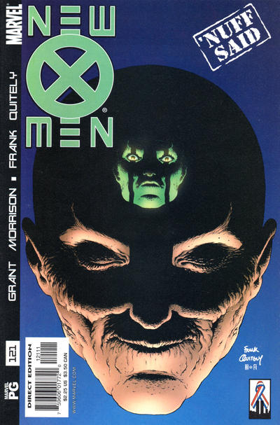 Cover for New X-Men (Marvel, 2001 series) #121 [Direct Edition]