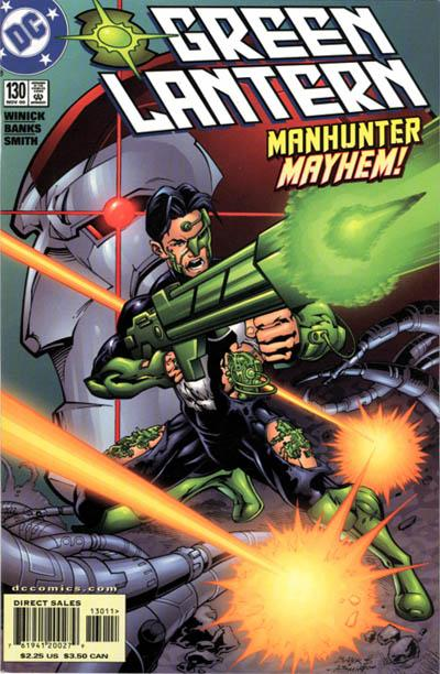 Cover for Green Lantern (DC, 1990 series) #130