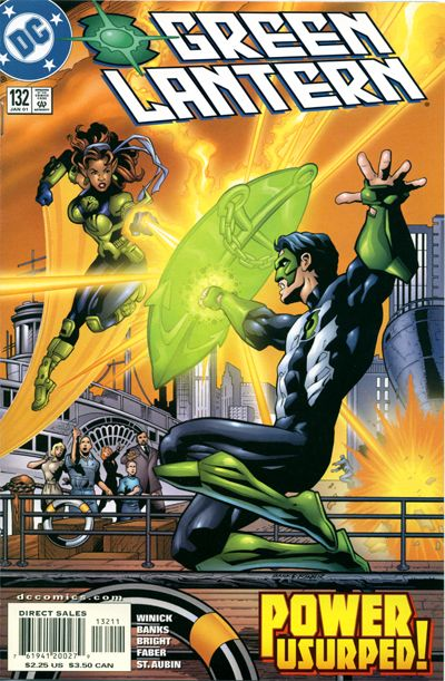 Cover for Green Lantern (DC, 1990 series) #132