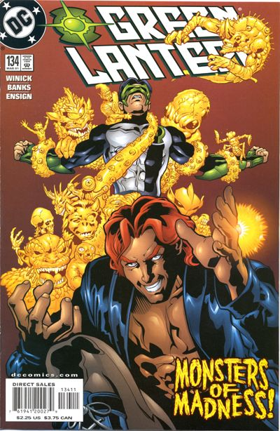 Cover for Green Lantern (DC, 1990 series) #134 [Direct Sales]