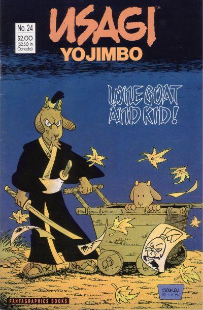 Cover for Usagi Yojimbo (Fantagraphics, 1987 series) #24