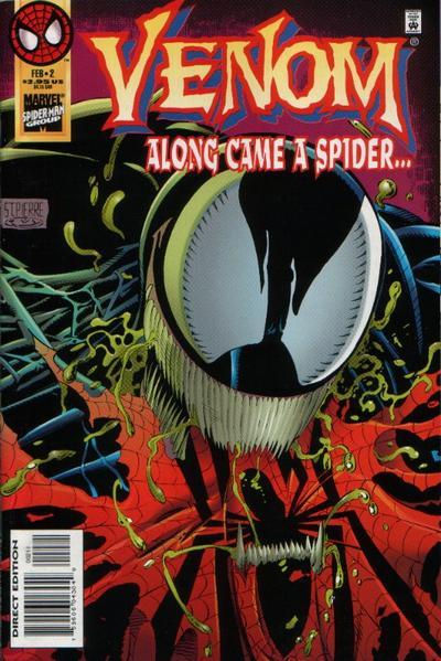 Cover for Venom: Along Came a Spider (Marvel, 1996 series) #2