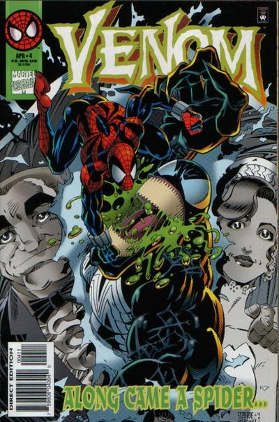 Cover for Venom: Along Came a Spider (Marvel, 1996 series) #4