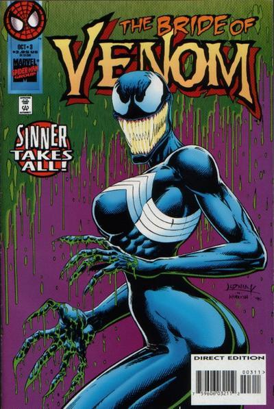 Cover for Venom: Sinner Takes All (Marvel, 1995 series) #3