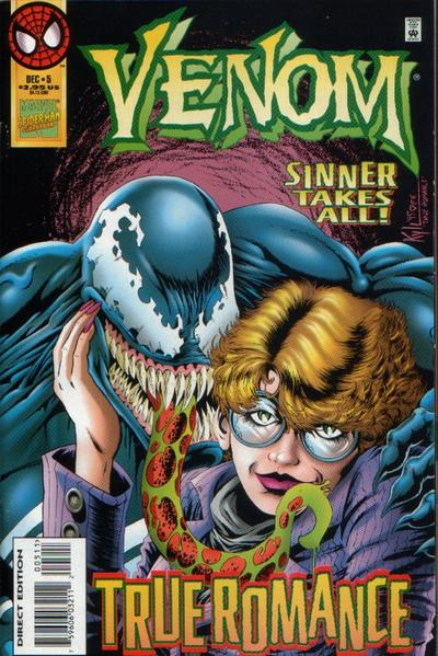 Cover for Venom: Sinner Takes All (Marvel, 1995 series) #5