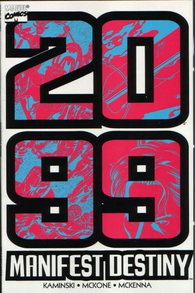 Cover for 2099: Manifest Destiny (Marvel, 1998 series) #[nn]