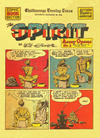 Cover Thumbnail for The Spirit (1940 series) #12/21/1941 [Chattanooga TN Evening Times edition]