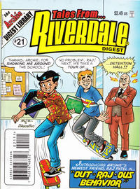 Cover for Tales from Riverdale Digest (Archie, 2005 series) #21 [Direct]