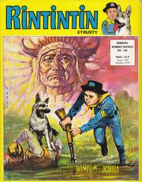 Cover Thumbnail for Rintintin et Rusty (Sage - Sagédition, 1970 series) #158-159