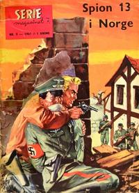 Cover Thumbnail for Seriemagasinet (Serieforlaget / Se-Bladene / Stabenfeldt, 1951 series) #9/1961
