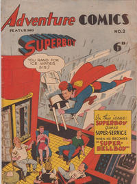 Cover Thumbnail for Adventure Comics Featuring Superboy (K. G. Murray, 1949 ? series) #2