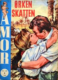 Cover Thumbnail for Amor (Serieforlaget / Se-Bladene / Stabenfeldt, 1961 series) #6/1962