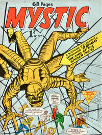 Cover Thumbnail for Mystic (L. Miller & Son, 1960 series) #57