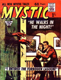 Cover Thumbnail for Mystic (L. Miller & Son, 1960 series) #8