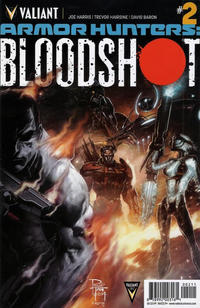 Cover Thumbnail for Armor Hunters: Bloodshot (Valiant Entertainment, 2014 series) #2 [Cover A - Philip Tan]