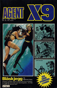Cover Thumbnail for Agent X9 (Semic, 1976 series) #11/1982