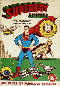 Cover Thumbnail for Superboy Annual (Atlas Publishing, 1953 series) #1958-59