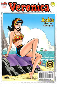 Cover Thumbnail for Archie (Archie, 1959 series) #658 [Veronica Pin-Up Variant]
