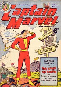 Cover Thumbnail for Captain Marvel [Captain Marvel Adventures] (L. Miller & Son, 1953 series) #v1#5