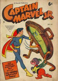 Cover Thumbnail for Captain Marvel Jr. (L. Miller & Son, 1950 series) #83